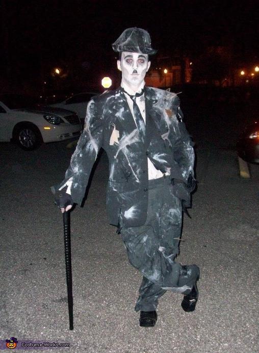 Zombie Charlie Chaplin Costume