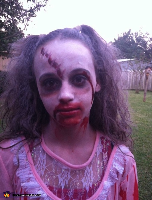 Wanna play, Zombie Child Costume