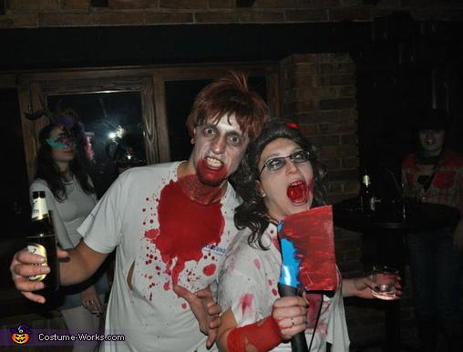Zombie Couple Halloween Costume