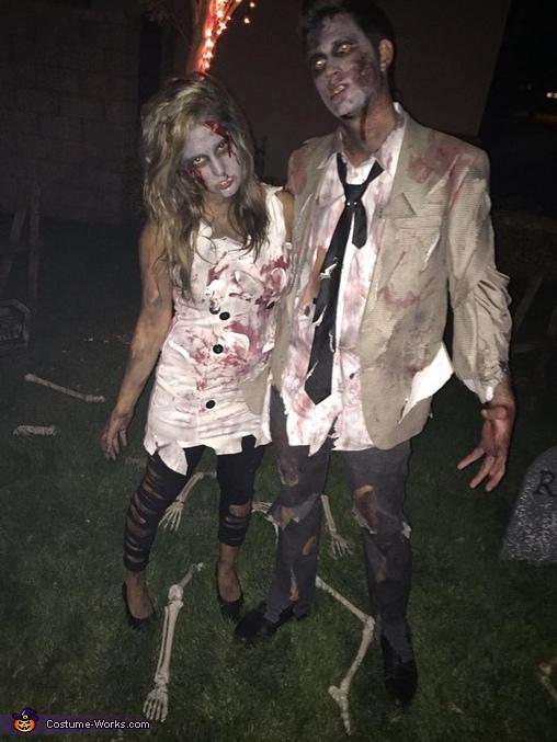 Zombie Couple Costumes