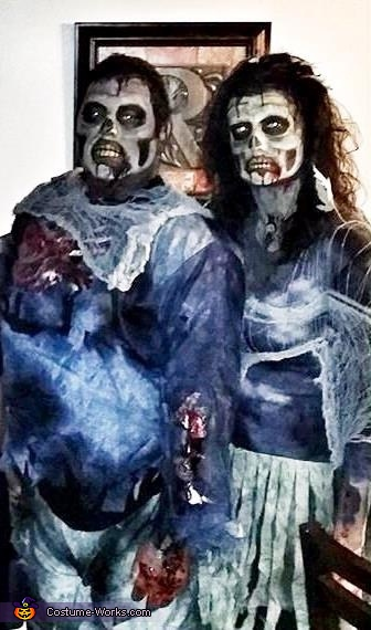 Zombie Couple 2, Zombie Couple Costume