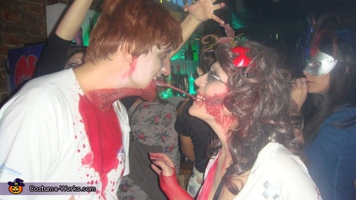 Zombie Couple Halloween Costume