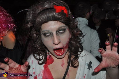Zombie Couple Homemade Costume
