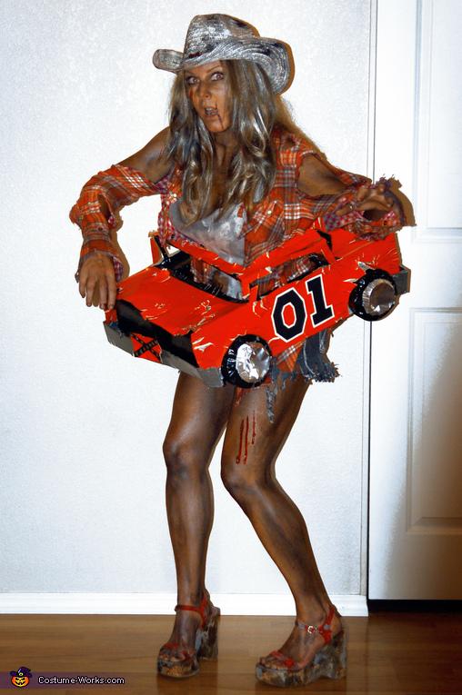 Zombie Daisy Duke Costume