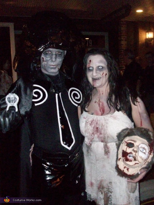 Zombie Dark Helmet and Princess Vespa Costume