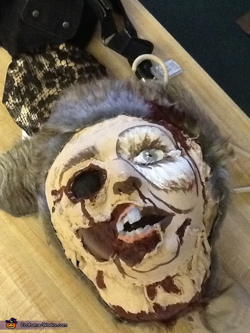 Zombie Dark Helmet and Princess Vespa Couple Costume
