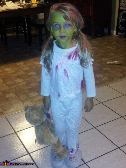 Zombie Demon Child Costume