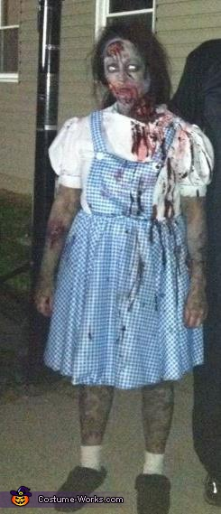 Zombie Dorothy - Homemade costumes for women