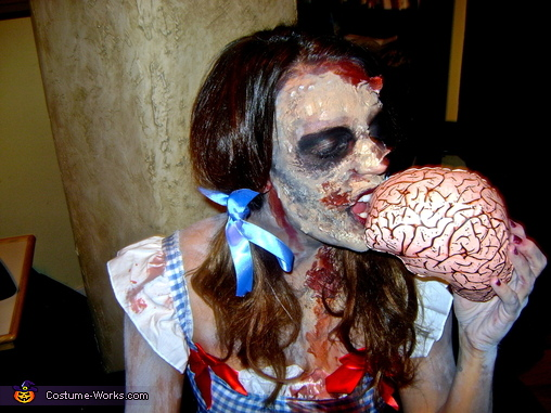 Zombie Dorothy and Scarecrow Costume