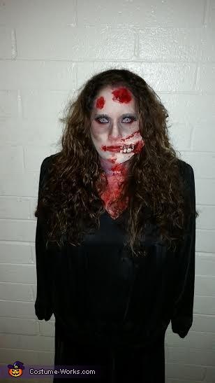 woman zombie, Zombie Family Costume
