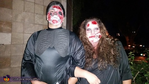 couple zombies, Zombie Family Costume