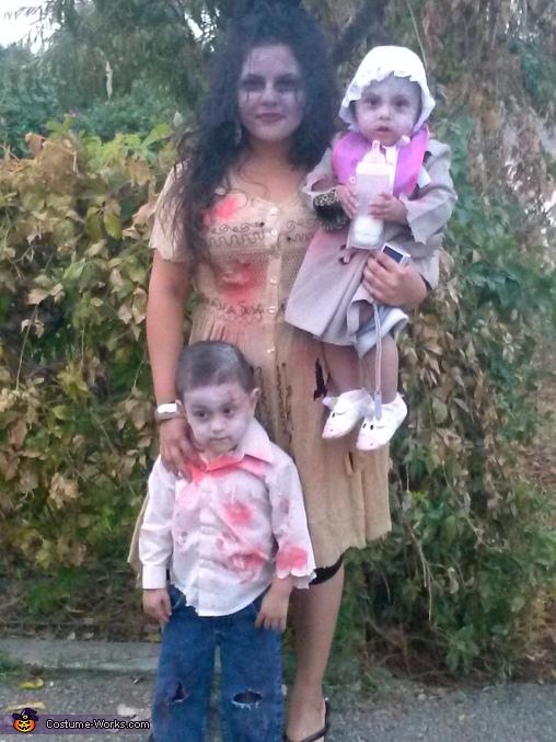 Zombie Family Costume Idea For Halloween