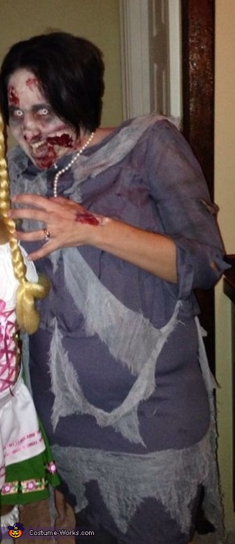 Zombie First Lady Homemade Costume