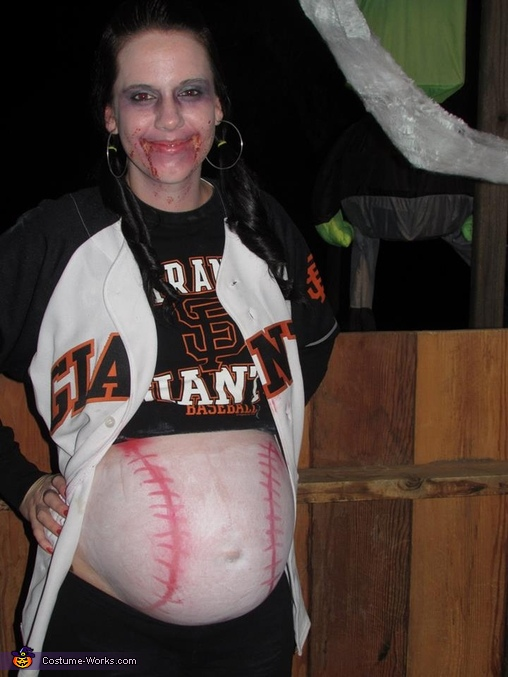 Zombie Giants Fan Pregnancy Costume