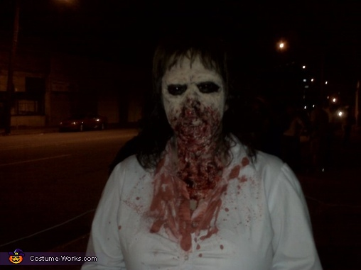hungry, Zombie Girl Costume
