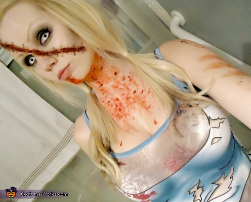 Women's Zombie Girl Costume