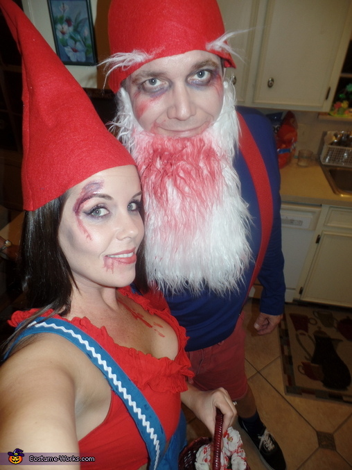 Zombie Gnomes Homemade Costume