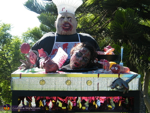 Anyone Want Some Blood -B-Q ?, Zombie Griller Costume