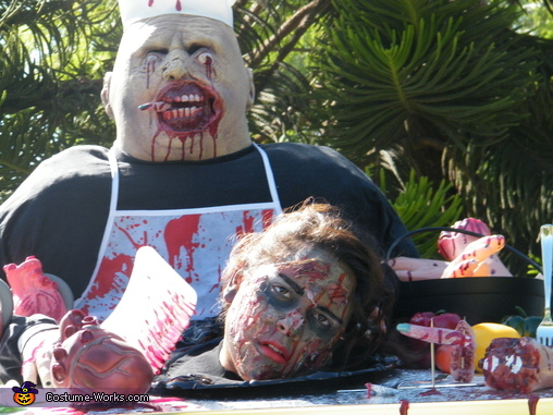 Nothing Like Some Good Meat to Make You Hungry !, Zombie Griller Costume