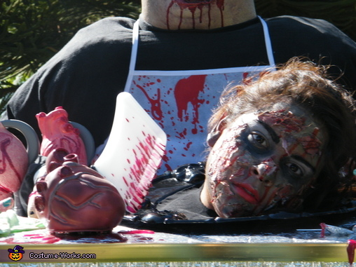 Hungry Anyone!, Zombie Griller Costume