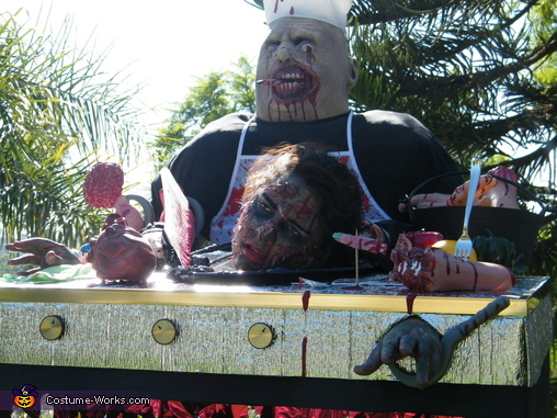The Best BBQ !, Zombie Griller Costume