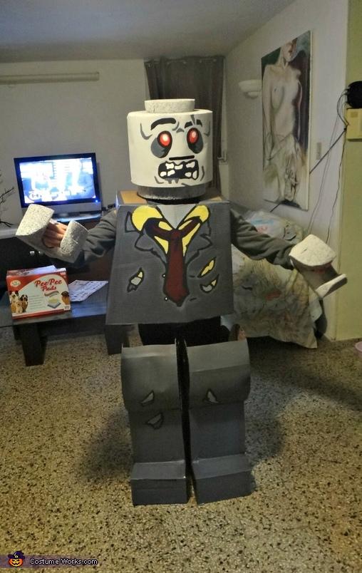 Lego zombie, Zombie Lego Costume