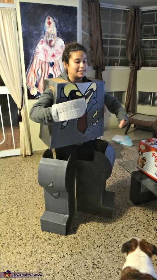 thaaat's me, Zombie Lego Costume