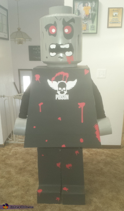 Zombie Lego Man Homemade Costume