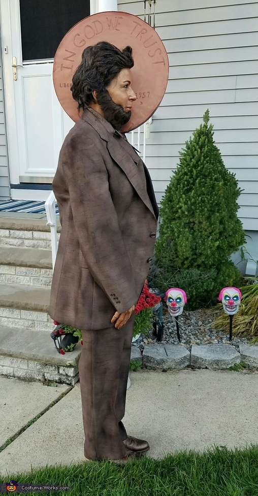 Zombie Lincoln Penney Costume