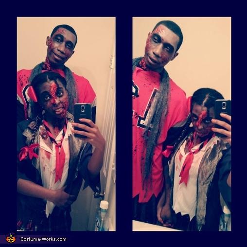 Zombie Love Costume