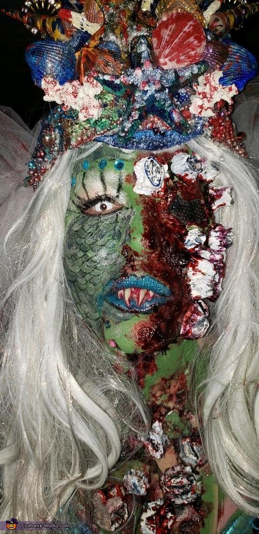 Cover of Mermaid Bride Magazine 2019, Zombie Mermaid Bride Costume