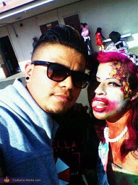 Zombie Miss El Salvador Costume