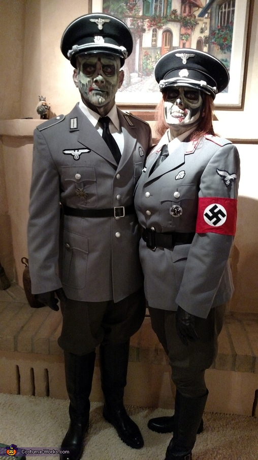 Zombie Nazi Officers Costume