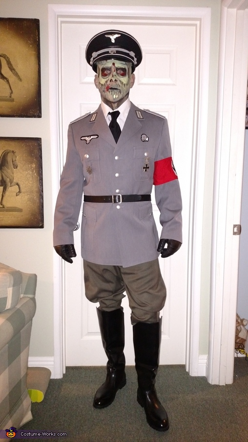 Zombie Nazi Officers Homemade Costume