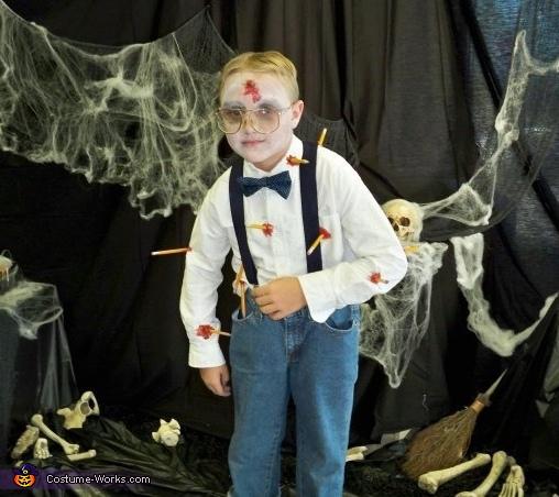 Zombie Nerd Costume