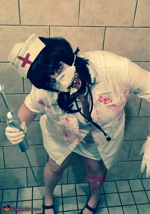 More zombie nurse, Scary Zombie Nurse Costume