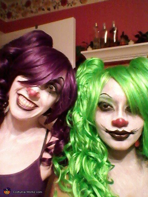I'm on the left, Zombie Nurse Costume