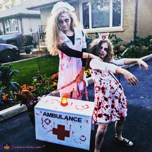 Zombie Nurse Apocalypse Costume