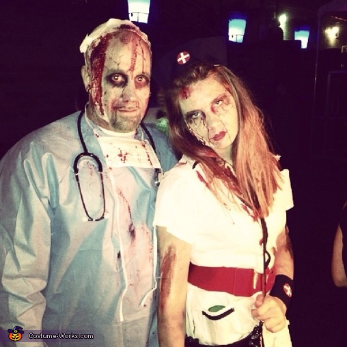 Zombie Operating Room Costume
