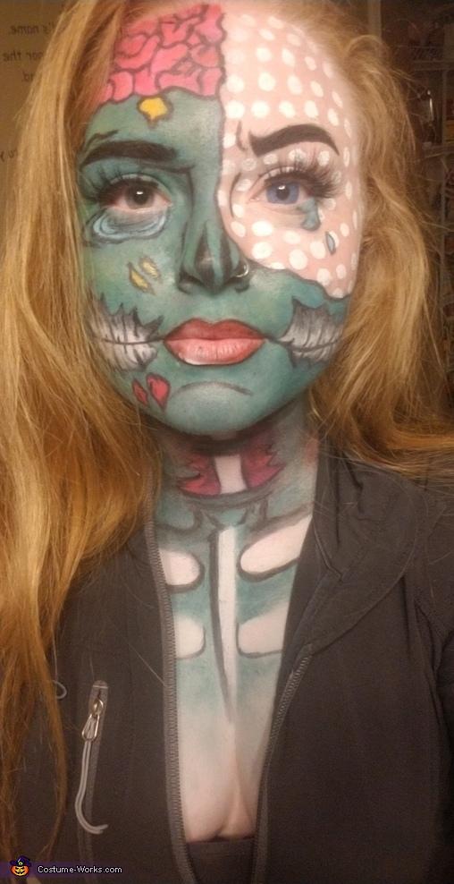 Zombie Pop Art Costume