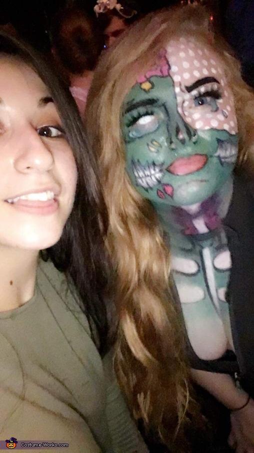Zombie Pop Art Homemade Costume