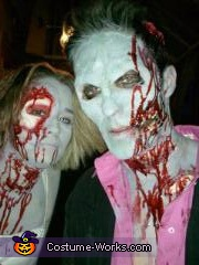 us together, Zombie Prom Dates Costume
