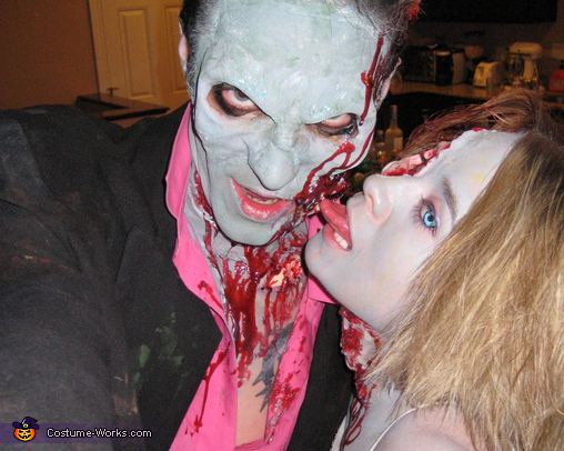 mmm... Zombie Prom Dates - Homemade costumes for adults