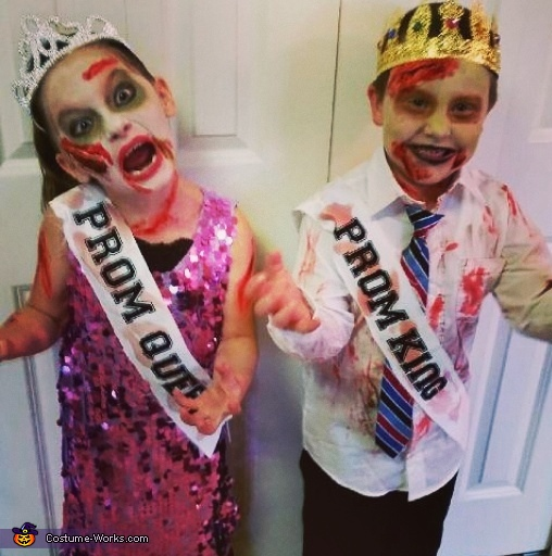 Zombie Prom King and Queen Costume