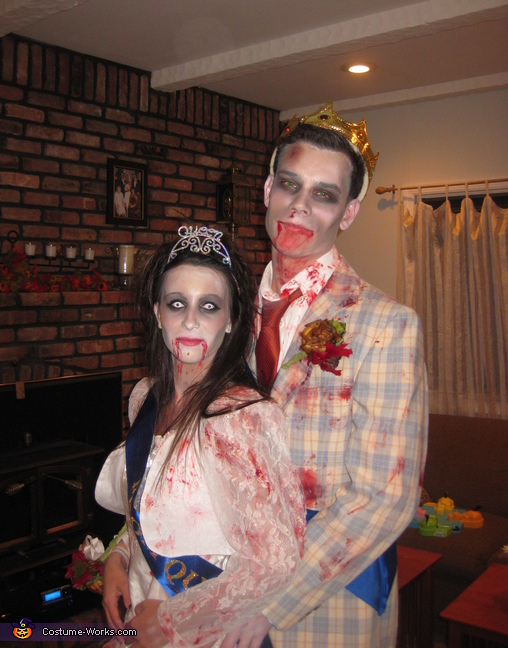 Zombie Prom King & Queen Costume