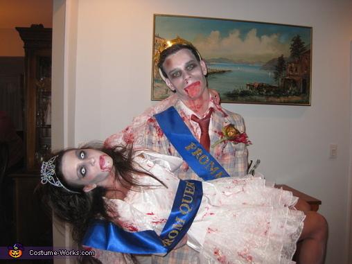 Zombie Prom King & Queen, Zombie Prom King & Queen Costume