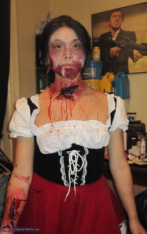 Zombie Red Riding Hood Costume
