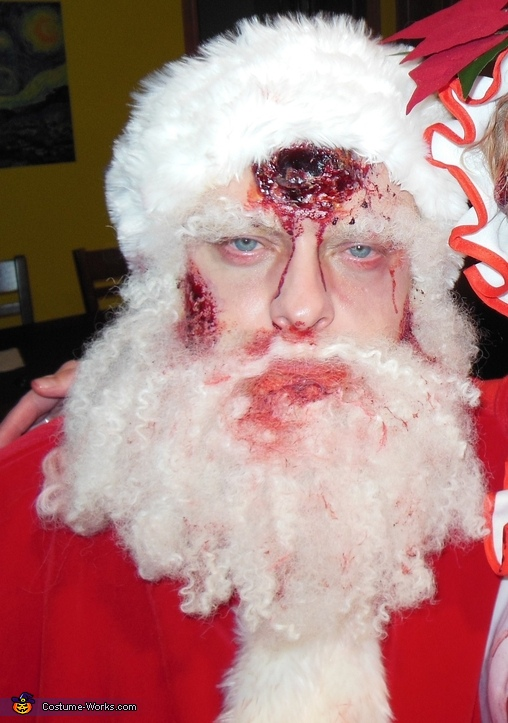 Zombie Santa Homemade Costume