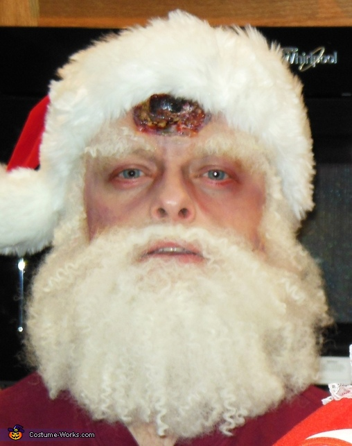 Zombie Santa Homemade Costume