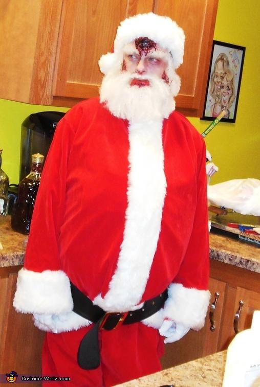 Zombie Santa Costume
